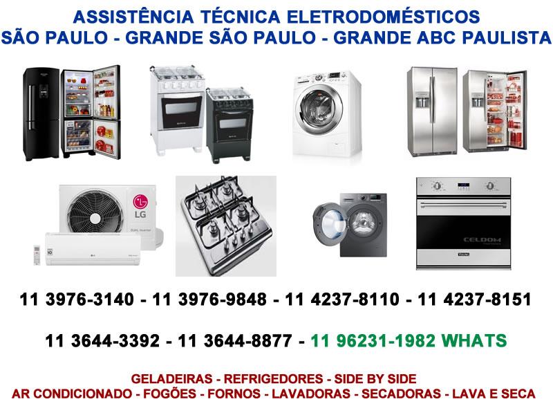 assistência técnica eletrodomésticos são paulo